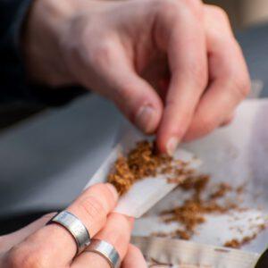 קטגורית טבק חלש לגלגול
